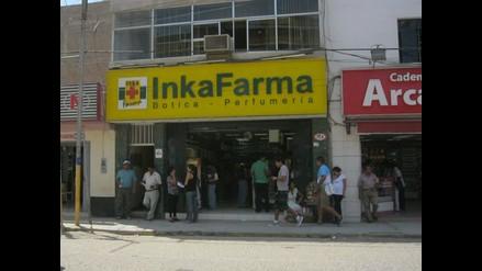 Chiclayo: Asaltan y roban 13 mil nuevos soles a conocida botica