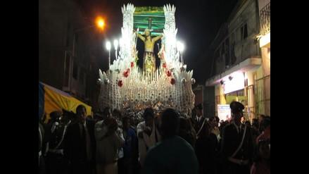Ayacucho: Cristo de la Agonía y Virgen Dolorosa salen en procesión