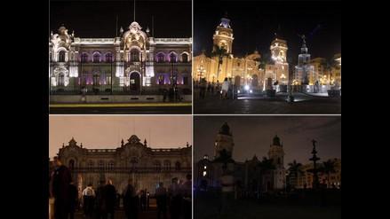 La Hora del Planeta desde la Plaza Mayor de Lima