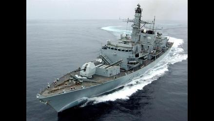 Destructor británico ´Dauntless´ zarpa el miércoles al Atlántico Sur