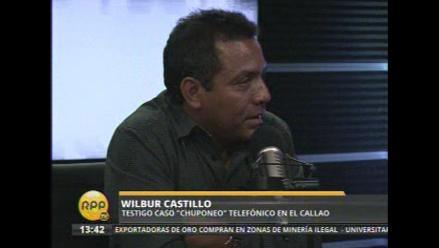 Fiscalía del Callao cita a Wilbur Castillo por caso de ´chuponeo´