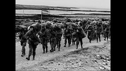Postales de los primeros días del conflicto por las Islas Malvinas