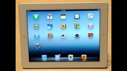 Usuarios denuncian serios problemas en la nueva tableta de Apple