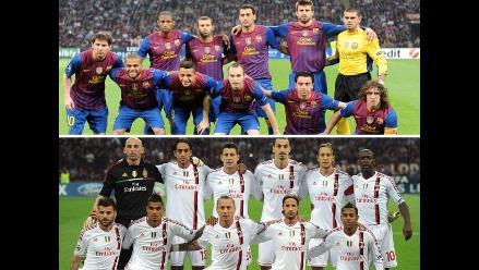 Conozca a las 22 futbolistas que arrancarán el Barcelona vs Milan