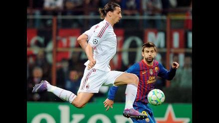Reviva incidencias del Barcelona vs AC Milan por la Liga de Campeones
