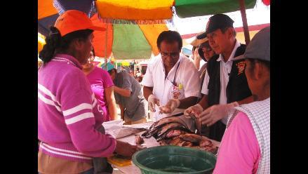 Chiclayo: Decomisan más de 200 kilos de pescado en mal estado