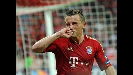Bayern Munich venció 2-0 al Olympique y espera al Real Madrid
