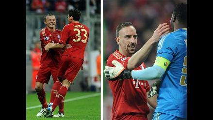 Así venció el Bayern Munich al Olympique de Marsella por la Champions