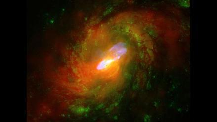 Científicos captan la evolución de una galaxia