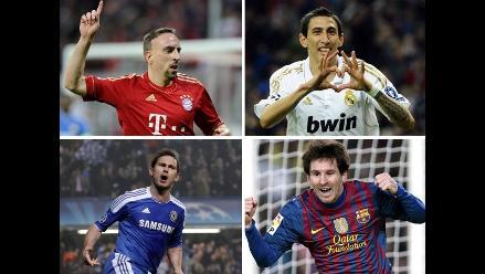 Así se jugará la etapa semifinal de la Liga de Campeones 2011-2012