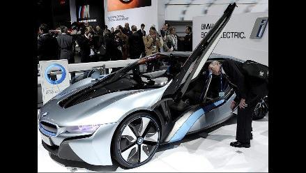 Modernos vehículos llegan al Salón del Automóvil de Nueva York 2012