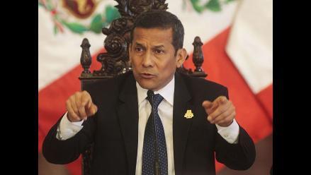Humala: Autogolpe significó corrupción, impunidad y traición a la Patria