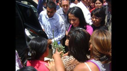 Nadine Heredia visita Cusco por Semana Santa