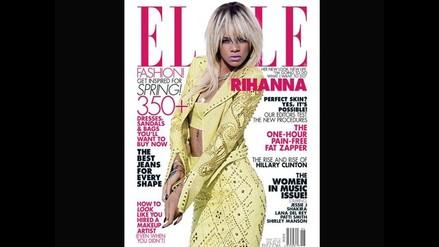 FOTOS: Rihanna posó para la Revista Elle 2012