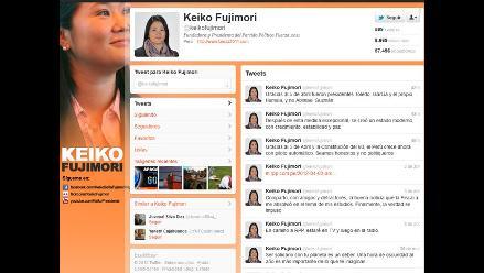 Keiko: Gracias al 5 de abril el Perú crece con piloto automático