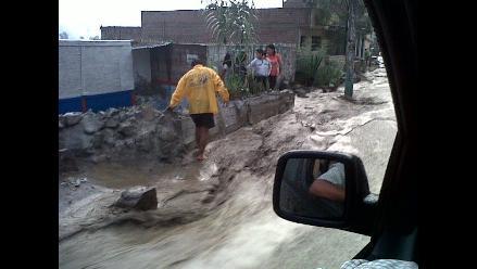 VIDEOS: Deslizamientos y lluvias causan zozobra en población de Chosica