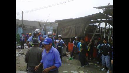 Arequipa: Desalojan a 100 personas que invadieron terrenos en La Joya