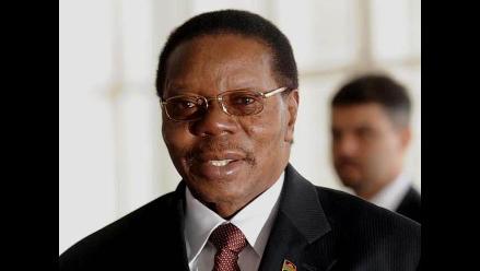 Presidente de Malawi fallece de paro cardiaco en hospital