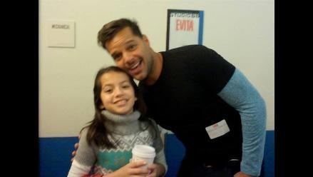 Niña peruana actúa junto a Ricky Martin en musical de Broadway