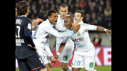 PSG derrota 2-1 al Olympique de Marsella en el clásico francés