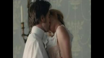Robert Pattinson y Uma Thurman sorprenden con apasionante escena de Bel Ami