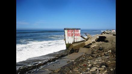 Trujillo: Continúan alargando plazos para frenar erosión costera