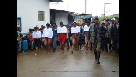 Piura: Ronderos retienen a abigeos en Huarmaca