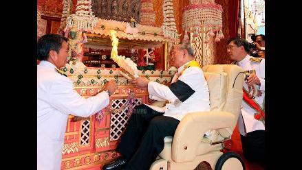 Adiós realeza: Ritual de cremación para la princesa tailandesa
