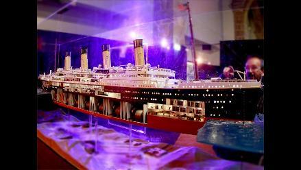 Recrean de forma digital el hundimiento del Titanic