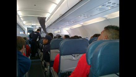 Selección chilena sufre inesperado aterrizaje cuando viajaba a Arica