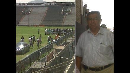 Julio Arango ingresó a Matute para asumir presidencia de Alianza Lima