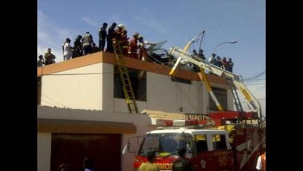 Investigan causas de caída de helicóptero de Región Callao