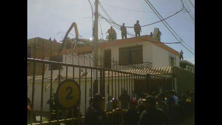 Helicóptero no causó daños en vivienda del Callao