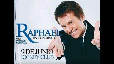 Raphael: El ruiseñor se posa nuevamente en Lima