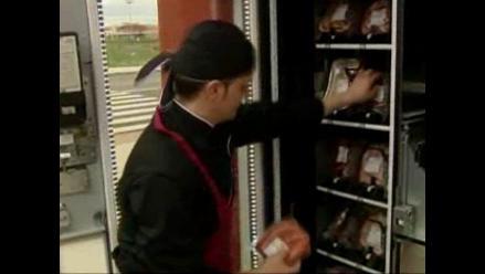 Máquina expende de carne las 24 horas del día en localidad de España