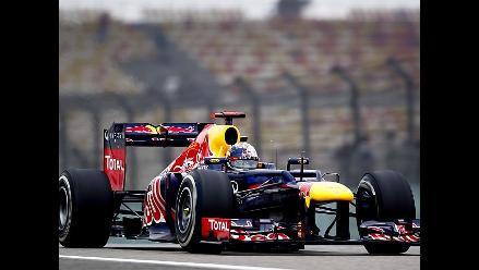 Imágenes de los entrenamientos libres del Gran Premio de China