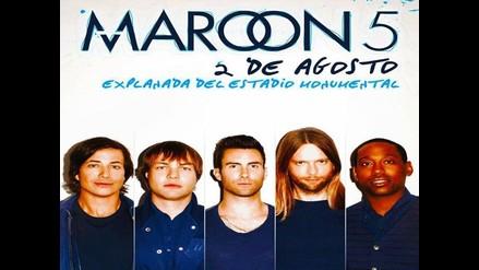 Confirmado: Maroon 5 en Lima gracias a Studio92