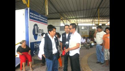 Chiclayo: Digesa inspecciona Hospital de la Solidaridad ante quejas