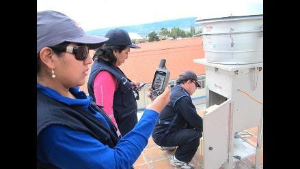 Digesa monitorea calidad de aire y ruido en Ayacucho