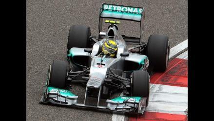 Nico Rosberg da la sorpresa y saldrá primero en el Gran Premio de China