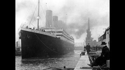 A cien 100 años del hundimiento del Titanic