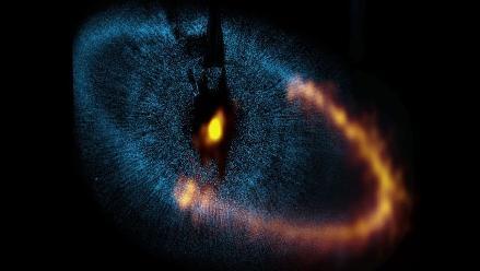 Observatorio ALMA revela tamaño de planetas del Sistema Fomalhaut