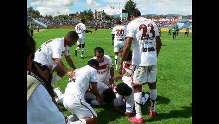 Inti Gas robó un punto a Sport Huancayo en fecha 8 del Descentralizado