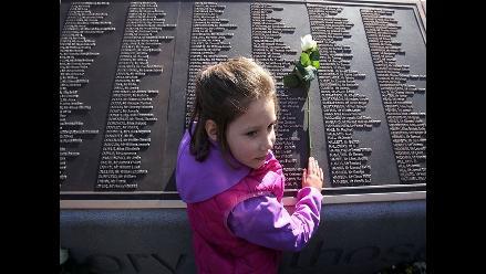 Inauguran monumento dedicado a las víctimas del Titanic en Belfast