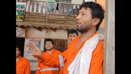 Imágenes exclusivas de RPP Noticias con los trabajadores rescatados