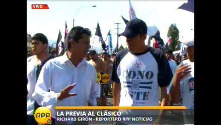 Hinchas de Alianza Lima expresan su apoyo total en previa del clásico