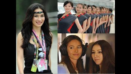 Vea a las bellezas del GP de China ganado por el alemán ´Nico´ Rosberg