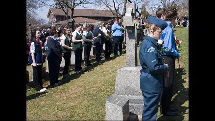 Concluyeron los actos en memoria de víctimas del Titanic en Halifax