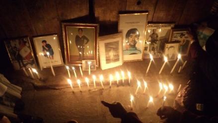 Huancavelica: Realizan vigilia por víctimas de la violencia política
