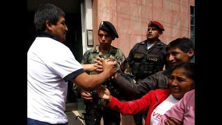 Exrehenes de terroristas pasaron examen médico en Cusco